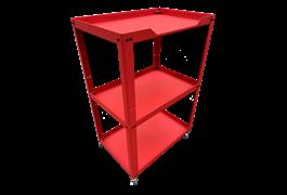 Xe để dụng cụ 3 ngăn N0R3-R (Đỏ) 1