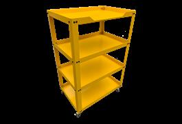 Xe để dụng cụ 4 ngăn N0R4-Y (Vàng) 1