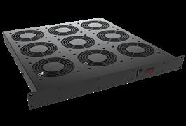 Khay quạt làm mát - Cooling Fan Tray (9 Fan) 1