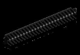 Thanh quản lý cáp ngang - Horizontal Cable Management 1U (Type 3) 1