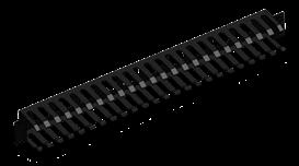 Thanh quản lý cáp ngang - Horizontal Cable Management 1U (Type 3) 2