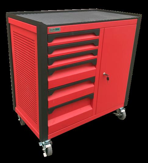 Tủ dụng cụ 8 ngăn kèm hộc có khóa N1T1RD8-R