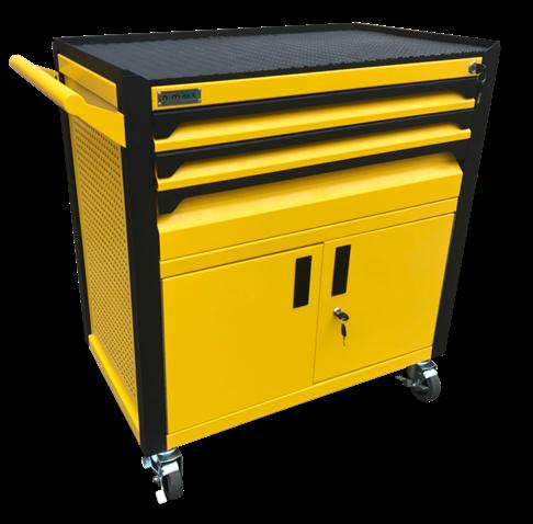 Tủ dụng cụ 3 ngăn kèm hộc đôi bên dưới có khóa N2T1RD3-Y