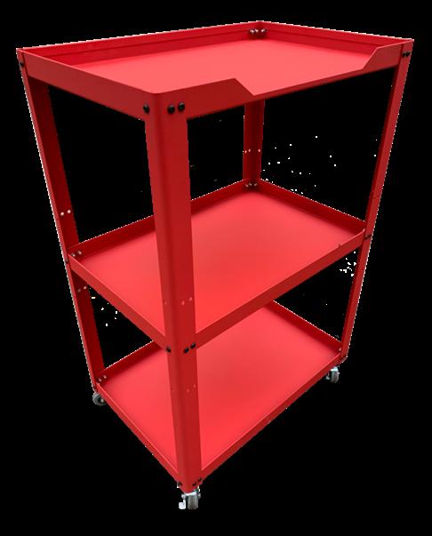 Xe để dụng cụ 3 ngăn N0R3-R (Đỏ)