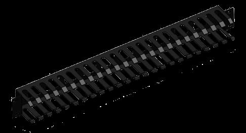 Thanh quản lý cáp ngang - Horizontal Cable Management 1U (Type 3)